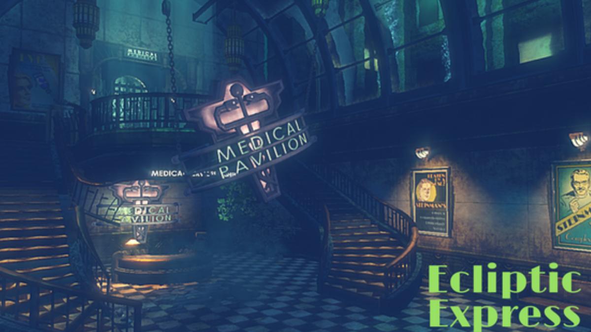 Ecliptic Express – Ein Zug voller Videospiele.